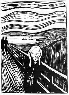Edvard Munch, Il grido, 1895