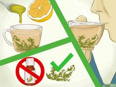 Image titled Get Rid of a Cough Fast Step 3 Best Cough Remedy, Home Remedy For Cough, Natural Cough Remedies, Get Rid Of Cough, Getting Rid Of Mucus, Licorice Root Tea, Sore Throat And Cough, Chesty Cough, Flu