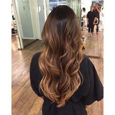 Ombre hair mel \u2026