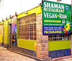Shaman Vegan Raw Restaurant in Cusco, Peru - another restaurant with GF options