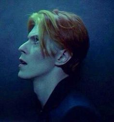 David Bowie *Man Who Fell To Earth* portrait.