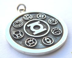 Solid Sterling Silver 925 Green Lantern Corps by blackmore5253