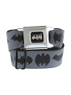 DC Comics Batman Logos Seat Belt Belt | Hot Topic