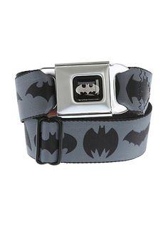DC Comics Batman Logos Seat Belt Belt | Hot Topic