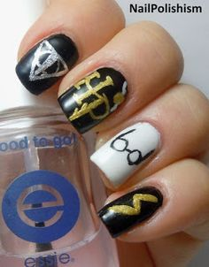 Harry Potter Nails