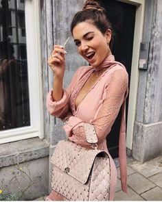 @negin_mirsalehi in Lilou Midi Dress