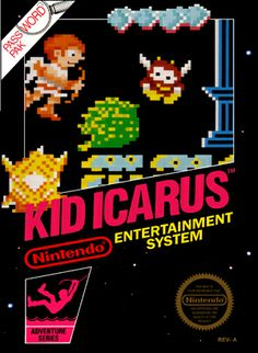 Box art for Kid Icarus.