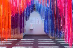 Colorscape installation by Kéré Architecture
