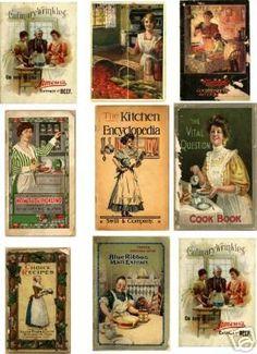 Miniature Printables - Cookbook Covers - LUNALUNERA (Mamen) - Picasa Web Albums.: