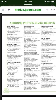 Protein Shake Recipes 855613629195765837 - Arbonne protein shakes Source by owingssderryl Arbonne 30 Day Cleanse, Arbonne 30 Day Challenge, Arbonne Detox, Arbonne Shake Recipes, Arbonne Protein Shakes, Protein Shake Recipes, Smoothie Recipes, Arbonne Nutrition, Healthy Living Recipes