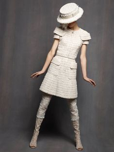 Karl Lagerfeld Shoots Marte Mei Van Haaster in Chanel Haute Couture Spring 2013