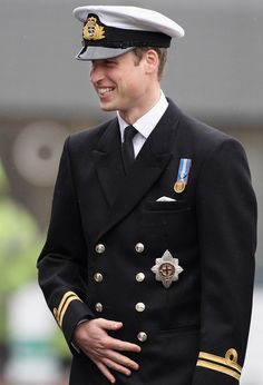 Something about a man in a Naval Uniform...