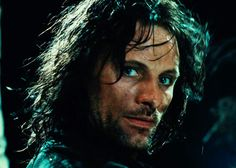 """30 Day LOTR Challenge - Day 18 Best Fight Sequence """" """"A shrill cry rang out in the night; Rr Tolkien, Tolkien Books, Viggo Mortensen Aragorn, Aragorn Lotr, The Chosen One, Great King, Great Love Stories, Aragon, Attractive People"""