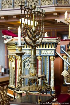 Stockholm's Great Synagogue impresses already with its architecture, but oy, the…