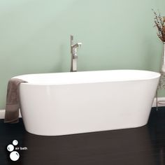 "70"" Leith Freestanding Acrylic Air Bath Tub  With air jets instead of whirlpool.  About $2,000 and up though"