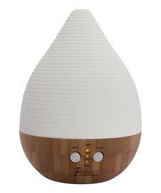 Look at this #zulilyfind! Bamboo & Ceramic Aroma Diffuser & Essential Oil Set by PURSONIC #zulilyfinds