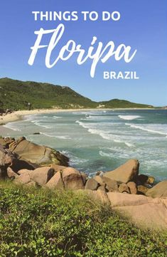Looking for the best things to do in Florianopolis? Here I'm going to show you 10 amazing things to do whilst on this beautiful island located in the state of Santa Catarina, Brazil. Travel Advice, Travel Guides, Travel Tips, Cancun, Tulum, Stuff To Do, Things To Do, Bucket List Before I Die, Brazil Travel