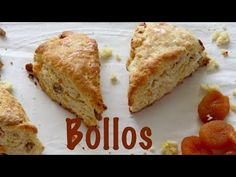 Scones recipe wit apricots, pecans and orange zest. How to make scones. Scones recipe for brunch. Chefs, Frugal, How To Make Scones, Breakfast Scones, Chef Work, Dried Blueberries, Glaze Recipe, Bread Baking, Food Videos
