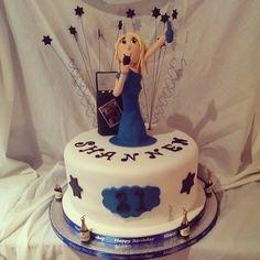 Karaoke themed 21st Birthday cake