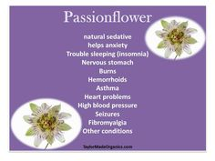 Benefits of Passionflower