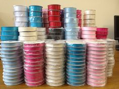 10 metres of Grosgrain Ribbon - 10mm  16mm  25mm widths  Various colours