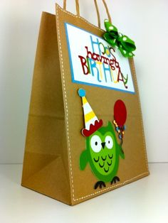 Hoo's Having a Birthday - Cricut Hoot n Holler