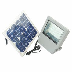 SMD LED - 108 LED Solar Flood Light With Remote Control