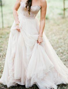 Carina Corset and Ahsan Skirt available at BHLDN