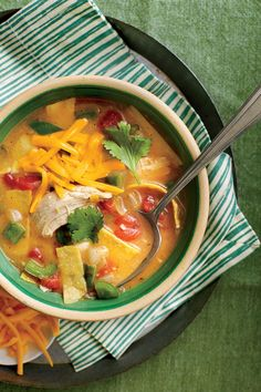 Southern Soups and Stews: King Ranch Chicken Soup