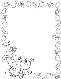 Page Borders Design, Border Design, Adult Coloring, Coloring Books, Giraffe Coloring Pages, Quiet Book Templates, Boarders And Frames, Board Decoration, Kindergarten Learning