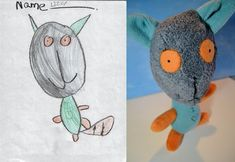 If children's drawings were made into toys… (part 2)