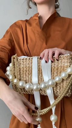 Cute spring 2021 straw bag. Check our Etsy shop