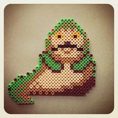Star Wars Jabba the Hutt perler beads by bigbharmon
