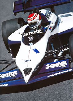 Nelson Piquet en el Brabham-BMW BT53 de 1984