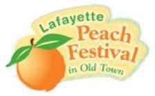#LafayettePeachFestival - Old Town Lafayette on Public Road