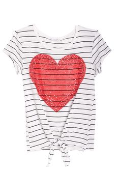 dELiAs > Stud Heart Tee > tops > graphic tees > view all graphic tees