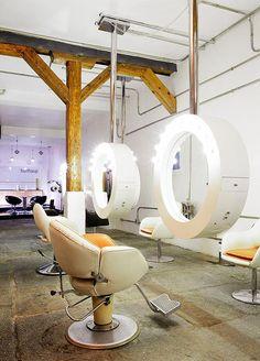 EN MI ESPACIO VITAL: Muebles Recuperados y Decoración Vintage: Quedamos en la peluquería { Let's meet at the hairdresser }