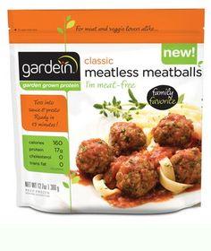 Gardein Classic Meatless Meatballs nominated for best veg meatballs! Vote: http://www.vegetariantimes.com/2013foodieawards/