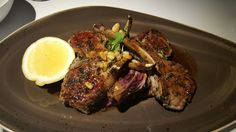 Charred lamb cutlets - A: 4
