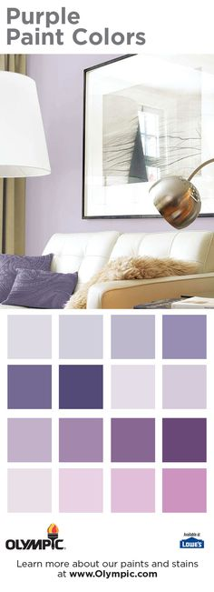 Wood Stain Colors - Interior & Exterior Wood Stain Colors For Any Project Olympic Paint, Deck Stain Colors, Purple Paint Colors, Casual Decor, Glam Bedroom, New Living Room, Projects, Painting, Inspiration