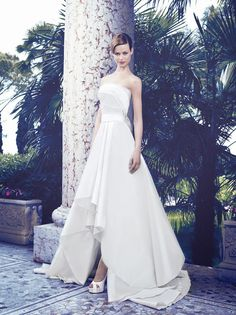 Beautifully handcrafted wedding gowns from Giuseppe Papini.  Bruid in Stijl: Giuseppe Papini 2014, iets voor Nederlandse bruiden?