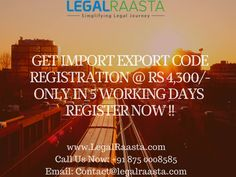 #IEC is needed for #import or #export of #goods from India. Get #IEC #license today from #LegalRaasta at Rs. 2999. Call 8750008585 for IEC #registration