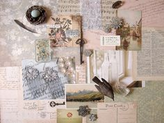 mood board; great idea - have a board of all things that make me smile and say 'ahhh'
