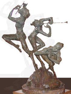 Richard MACDONALD Joie de Vivre, Nude (half-life-scale), artwork on the Marketplace - Artprice.com