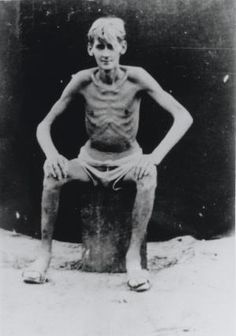 Allied prisoner of war, Far East, c1945