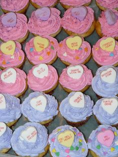 picture of valentine cupcakes | mini valentine cupcakes | Flickr - Photo Sharing!