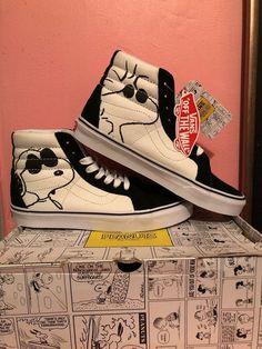 87570d50a936 Vans x peanuts sk8-hi Size 8  fashion  clothing  shoes  accessories