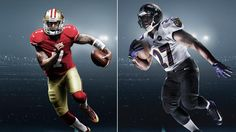 Nike News - Ravens and 49ers take on Super Bowl XLVII in Nike's most innovative uniform system
