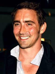 Repinning the beautiful smile of #LeePace.