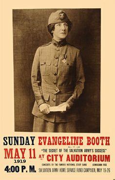 Evangeline Booth 1919
